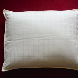 Pillow Filled With Buckwheat Hulls Size 70 50 Cm Extra Pillowcase 100 Of Cotton