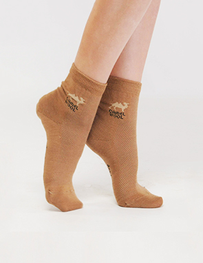 d76121e8e0e86 Pure Camel wool Socks for Men and Women - Kalyna - Russian store in ...